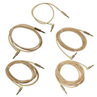 MagiDeal Braided 1/8'' 3.5mm Jack Male to Male Headphone Audio Cable Cord