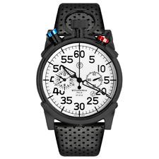 CT Scuderia Men's Corsa Chronograph Swiss SS Leather Strap Watch CS20101 /NEW