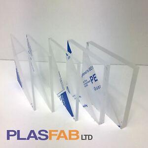 Clear acrylic sheet perspex cast 3mm 4mm 5mm 8mm 10mm plexiglass window A3 A2 A1