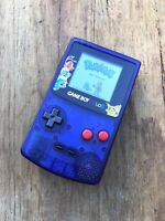Nintendo GameBoy Color - Refurbished Colour Game Boy GBC Toys R Us Clear Purple