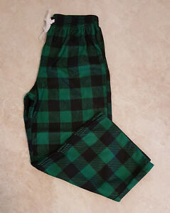 Boys Flannel Elastic Waist Lounge/Sleepwear Pants: XS(4-5)-S(6-7)-M(8)