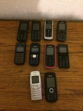 Massive Job Lot Nokia Mobile Phones X 10 Bargain Untested 99 P Start