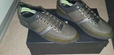 HUGO BOSS  MAZE  MENS DARK GREEN SNEAKERS