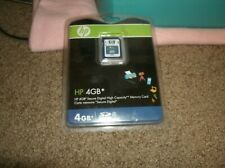 New! HP Memory Card 4 GB SDHC Authentic Genuine  FREE SHIPPING!