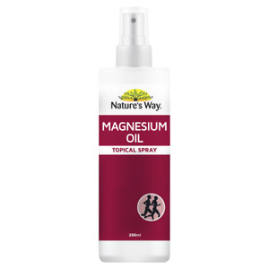 Nature's Way Magnesium Oil 250mL Topical Spray Muscle Joints Recovery Natures