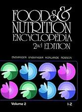 Foods and Nutrition Encyclopedia by Ensminger, Ensminger Eugene