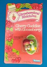 NEW Vintage 1982 Strawberry Shortcake W Cherry Cobbler + Gooseberry PVC Figure
