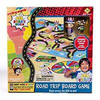 Ryan's World Road Trip Board Game - Includes Collectible Figurines, Cards & More