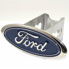 "Ford Oval Logo Tow 2"" Receiver Hitch Cover Real Heavy Duty Stainless Steel Plug"