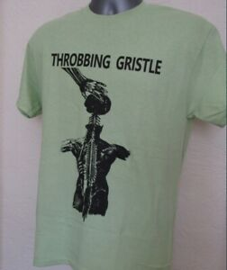 Throbbing Gristle T Shirt Music Electronic Industrial Coil Cabaet Voltaire T311