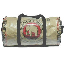 Elephant Brand Large Barrel Travel Bag 51cm long Fair Trade from Cambodia
