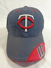 Minnesota Twins MLB Baseball Cap Blue Red Embroidered M Adult One Size