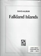 Lot of 3 New Davo Hingeless Page Sets Falklands, Dependencies & B.A.T. 2000-2013
