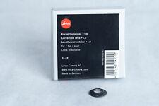 Leica Diopter-Adjustment +1 Correction Lens for M System Viewfinder Original New