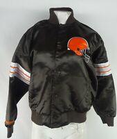 Cleveland Browns NFL Team Apparel Women's Snap Up Varsity Jacket