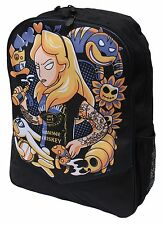 Alice au pays des merveilles Alternative Disney Darkside Sac à dos ordinateur portable Sac Cartable