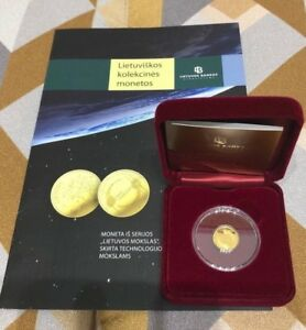 2018 Lithuania 5 € coin from the series ''Lithuanian Science''