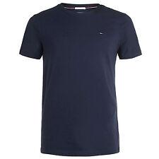 Tommy Hilfiger Denim Navy Original Logo T-shirt Medium Td078 Mm 15