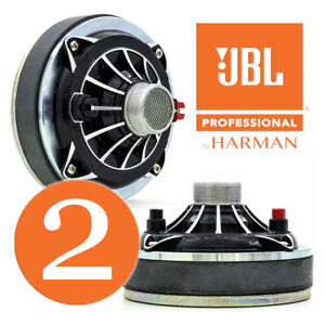 "JBL Selenium D250 Trio 200 Watt RMS 8-ohm 1-3/8""-18 TPI Large 1"" Driver, PAIR"