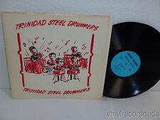TRINIDAD STEEL DRUMMERS LP Cherry Records 10133 VG+ World Music Album