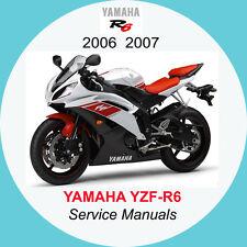 YAMAHA YZF-R6 2006-2007 FULL SERVICE MANUAL A1