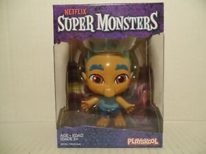 Netflix Super Monsters Spike Gong Figurine Playskool Hasbro NIB