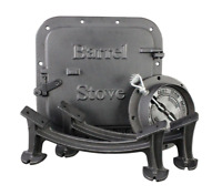 US Stove Company Cast Iron Double Barrel Stove Adaptor Heavy Duty