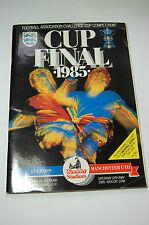 EVERTON v MANCHESTER UNITED 1985 FA CUP FINAL Football Programme *PRISTINE*
