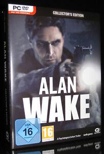 PC ALAN WAKE - COLLECTOR'S EDITION - ACTION-PSYCHO-THRILLER *** NEU ***