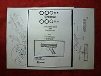 Crosman Model 600 677 CO2 Pistol Two (2) O-Ring Seal Kits  Exploded View & Guide