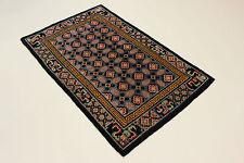 ANCIEN Pékin reimport USA très fine PERSAN TAPIS tapis d'Orient 1,27 x 1,99