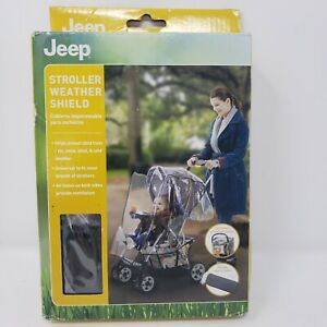 Jeep Stroller Rain Cover-NEW In Box Baby Accessories, Weather Shield Universal