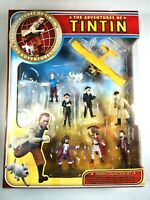 the Adventures of TinTin *COLLECTORS SET* 10 pieces Hand Painted Figurines NIB