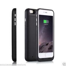 Fundas y carcasas mate de color principal negro para teléfonos móviles y PDAs Apple