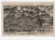 Clarens Lac Leman Vintage RP Postcard Switzerland 392a