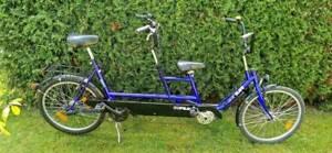 COPILOT 24 Zoll E-Bike Therapie Therapeutisches Tandem Pedelec Daumengas