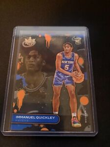 Immanuel Quickley Level 2 Rookie Court kigns 20-21#117