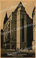 TOWN HALL EXTENSION, MANCHESTER. Vintage Postcard - B2/04
