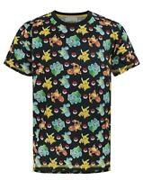 Pokemon Starters Sublimation Boy's T-Shirt