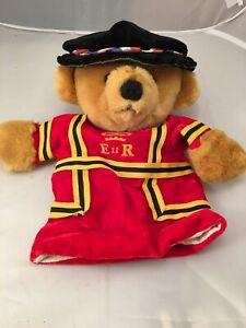 Merrythought Ironbridge Shropshire UK Puppet Royal Guard Uniform Bear