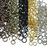Wholesale Open Jump Rings Connectors Beads For Jewelry DIY 4/5/6/7/8/10/12mm Y1