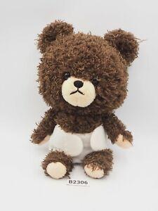 "Bear's school Jackie B2306 Railway Sekiguchi Plush 7"" Stuffed Toy Doll Japan"