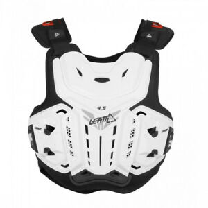 Leatt Brace Chest Protector Body Armour 4.5 ACU CE Approved EN1621 Adults White