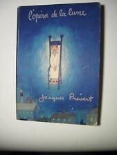 L'Opéra de la lune Jacques Prévert first edition 1953 Good condition