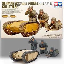 TAMIYA 1/35 GERMAN ASSAULT PIONEER TEAM & GOLIATH SET (BEETLE TANK) KIT 35357