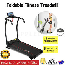 New Motorised Electric Treadmill Running Fitness Machine Fold Away Exercise Gym