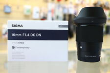 Sigma 16mm f/1.4 DC DN Contemporary Lens for Sony E ZP