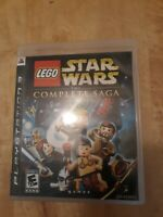 LEGO Star Wars: The Complete Saga (Sony PlayStation 3, 2007) ~ Complete