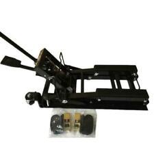 Motorcycle ATV Jack Lift 1500Lb Bike Stand Garage Repair Black New High Quality