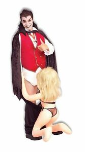 Adult Funny Down For The Count Mens Halloween Fancy Dress Costume Outfit **UK